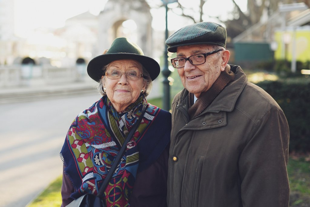 100 Strangers, #1: Dorit and Johan